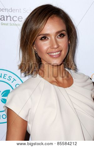 LOS ANGELES - MAR 17:  Jessica Alba at the 2015 Impact Awards Dinner at the Beverly Wilshire Hotel on March 17, 2015 in Beverly Hills, CA