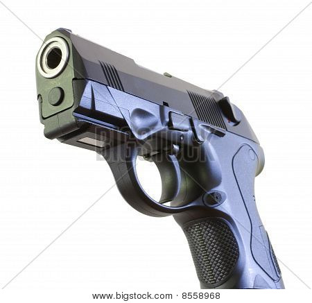 Business End Of A Handgun