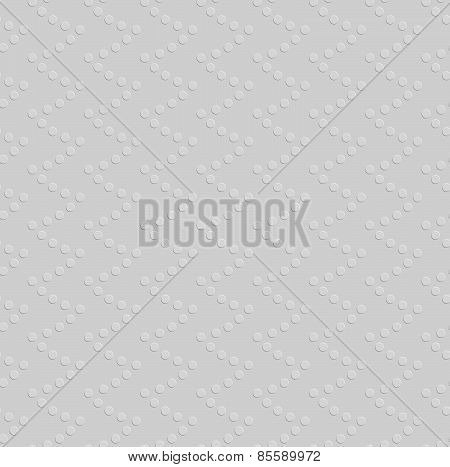 Embossed Geometrical Pattern With Dotted Texture