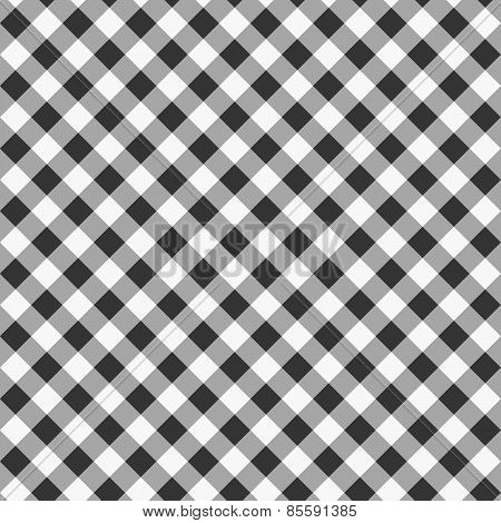 Monochrome Pattern With White Gray And Black Diagonal Squares