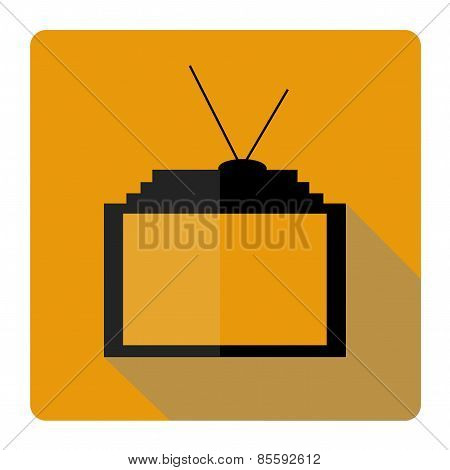 Icon flat parabolic antenna
