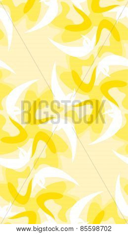 Seamless Bright Yellow Shapes