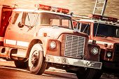 foto of firehouse  - Vintage Fire Trucks in California United States - JPG