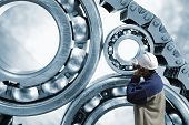 foto of ball bearing  - engineer - JPG
