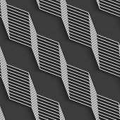picture of diagonal lines  - Seamless geometric background - JPG