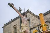 foto of passion christ  - Holy Week in Spain procession of  - JPG