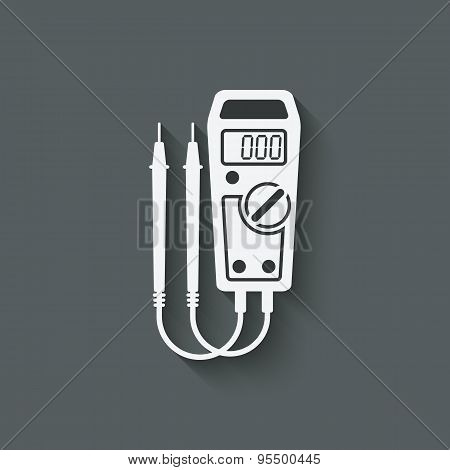 Digital Multimeter Symbol