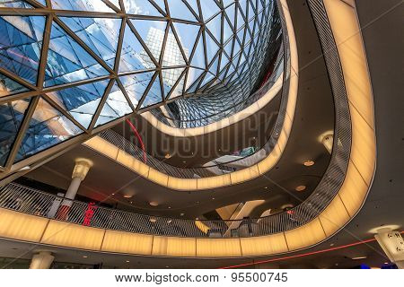 Shopping Mall Myzeil In Frankfurt