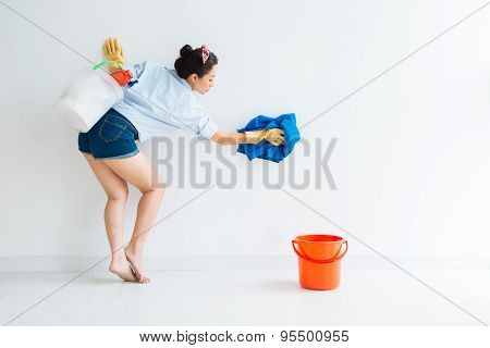 Cleaning The Wall
