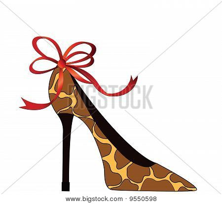 Animal Print Shoe