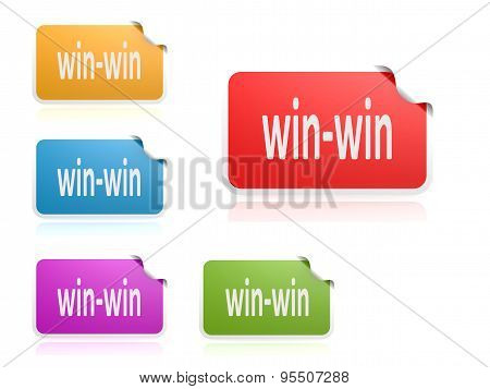 Win-win Color Label Set