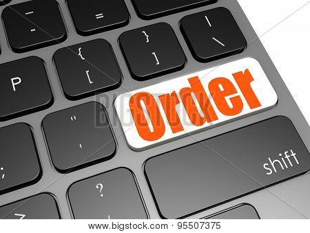 Order Black Keyboard