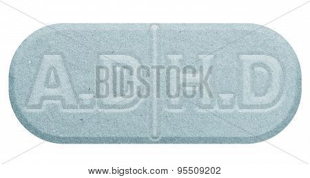 Blue A.D.H.D PILL