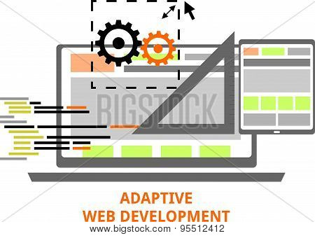 vector - adaptive web development
