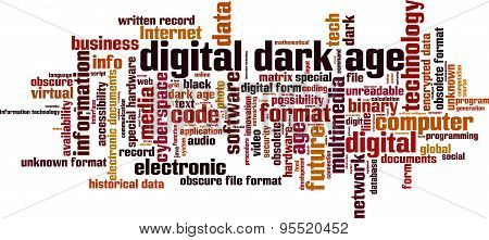 Digital Dark Age Word Cloud