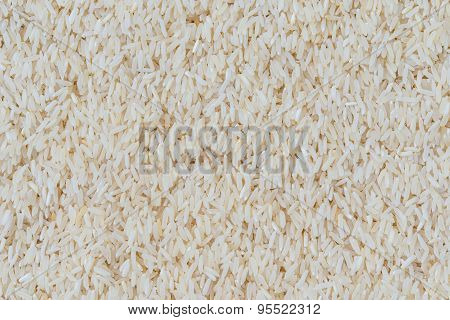 Texture Of Rice Grain (jasmine Rice)
