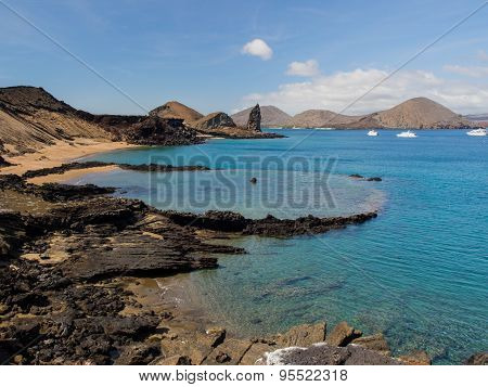 Bartolome Island and Pinnacle Rock, Galapagos Archipelago