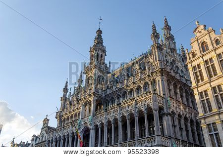 Maison Du Roi (the King's House Or Het Broodhuis) In Grand Place, Brussels