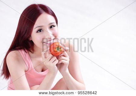 Health Girl Show Tomato