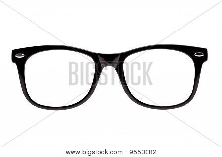 Photo Black Nerd Spectacle Frames