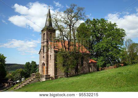 Protestant chuch of Bornhagen