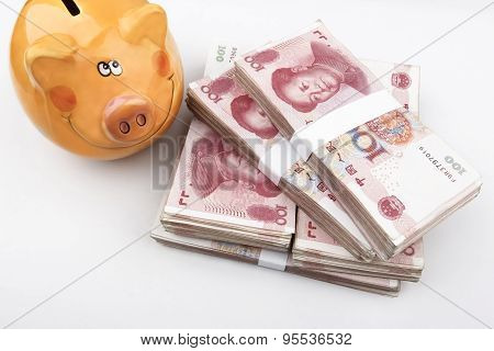 My Chinese Business (Chinese Money RMB & Piggy Bank)