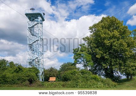 Viewing tower in Duerrenmettstetten