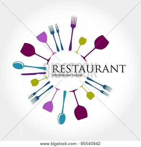 Restaurant logo - idea for the sign / logo / label element