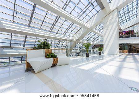 sofa in shopping mall