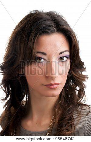 Italian Brunette Woman
