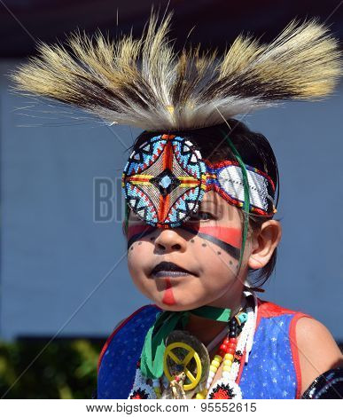 Native Indian child