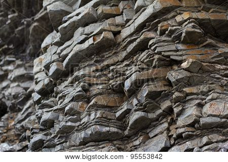 Layers In Rock