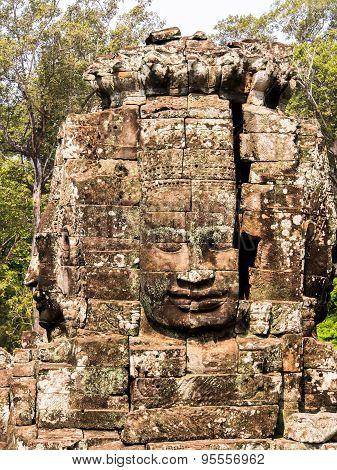 Face of Bodhisattva Loki State Ice King