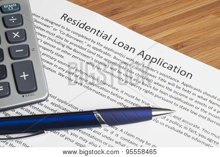 Contract to Residential Home Loan