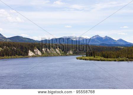 Teslin River Yukon Territory Canada