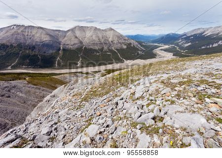 Glacial Valley Macdonald Creek Bc Canada