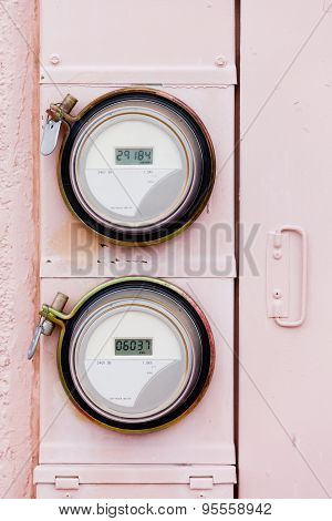 Smart Grid Residential Digital Power Supply Watthour Meters