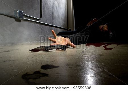 Bloody Murder Victim