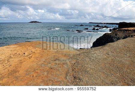 Tiny Islet At Sea In Djeu