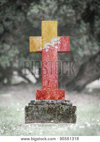 Gravestone In The Cemetery - Bhutan