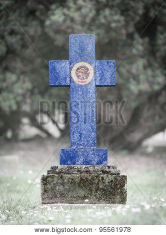 Gravestone In The Cemetery - Minnesota