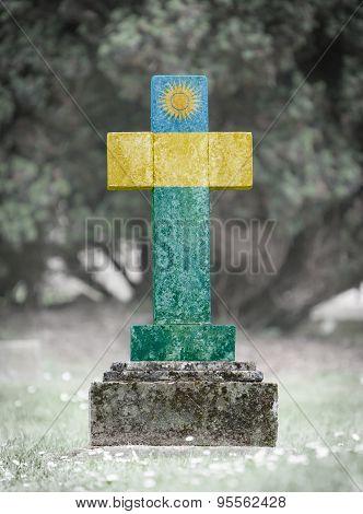 Gravestone In The Cemetery - Rwanda