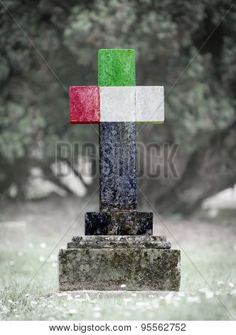 Gravestone In The Cemetery - United Areb Emirates