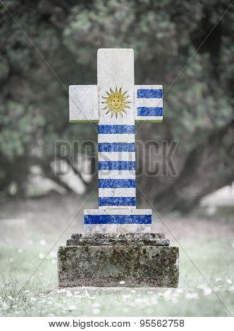 Gravestone In The Cemetery - Uruguay