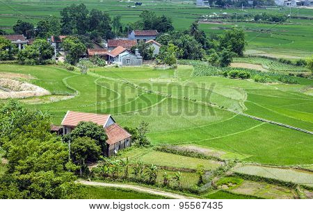 A village in northern Vietnam