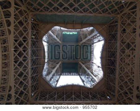 Eiffel Tower  From Underneath