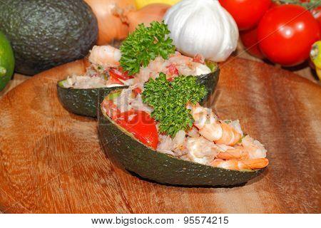 ,avocado, Guacamole, Shrimp,tuna,salad, Guacamole