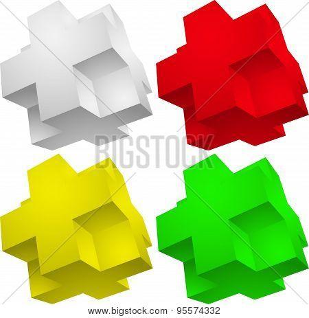 3d element Puzzle