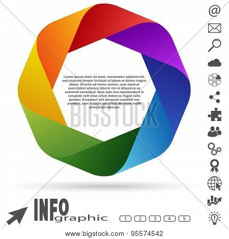 Info Graphic Colored
