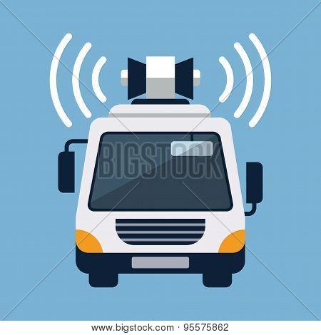 Loudspeaker Van